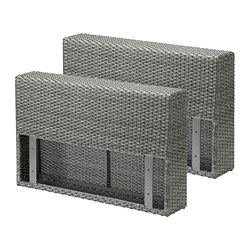 SOLLERÖN - armrest section, outdoor, dark grey | IKEA Hong Kong and Macau - PE712449_S3