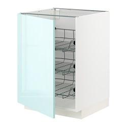 METOD - 地櫃連網籃, 白色 Järsta/光面 淺湖水綠色   IKEA 香港及澳門 - PE808616_S3