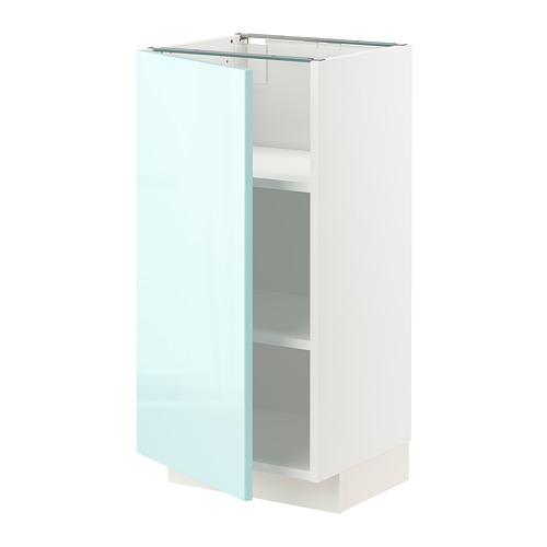 METOD - 地櫃連層板, 白色 Järsta/光面 淺湖水綠色 | IKEA 香港及澳門 - PE808619_S4