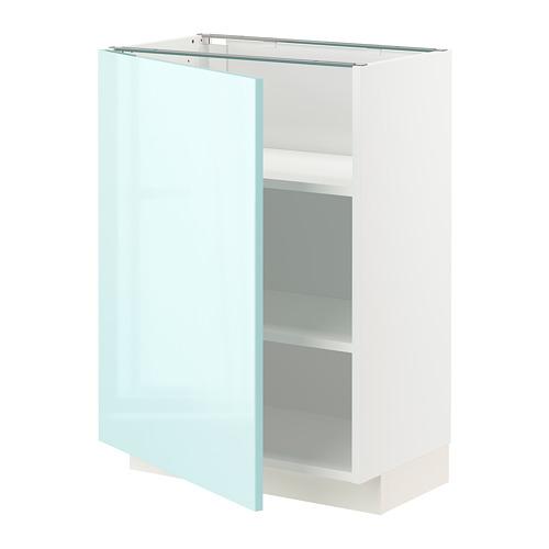 METOD - 地櫃連層板, 白色 Järsta/光面 淺湖水綠色 | IKEA 香港及澳門 - PE808620_S4