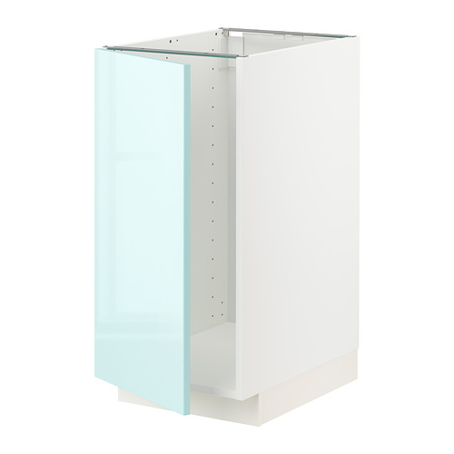 METOD - 星盆/垃圾分類用地櫃組合, 白色 Järsta/光面 淺湖水綠色   IKEA 香港及澳門 - PE808623_S4