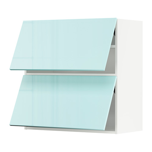 METOD - 雙門橫吊櫃, white Järsta/high-gloss light turquoise   IKEA 香港及澳門 - PE808615_S4