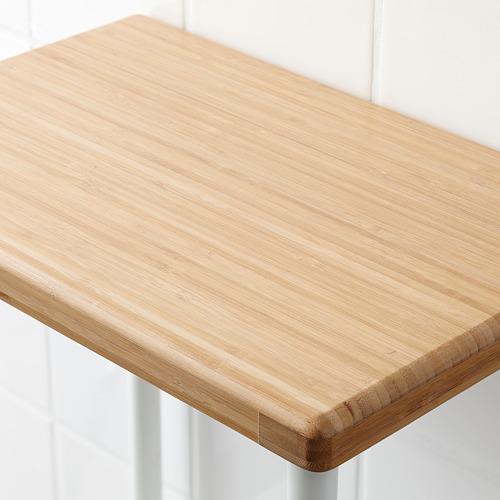 DYNAN - 層架組合, 白色/竹紋   IKEA 香港及澳門 - PE612750_S4