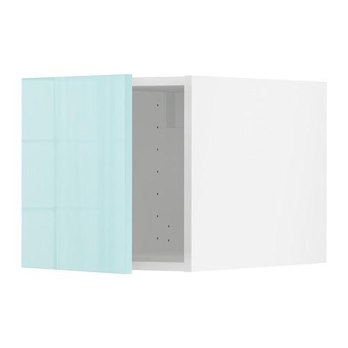METOD - 頂櫃, white Järsta/high-gloss light turquoise   IKEA 香港及澳門 - PE808598_S4