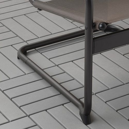HUSARÖ - armchair, outdoor, dark grey   IKEA Hong Kong and Macau - PE715225_S4
