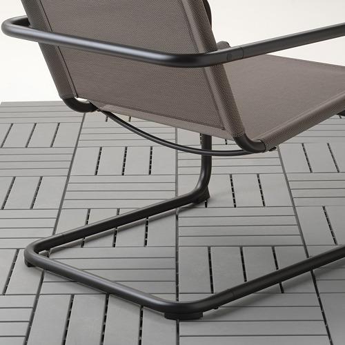 HUSARÖ - armchair, outdoor, dark grey | IKEA Hong Kong and Macau - PE715226_S4