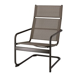 HUSARÖ - armchair, outdoor, dark grey | IKEA Hong Kong and Macau - PE715229_S3