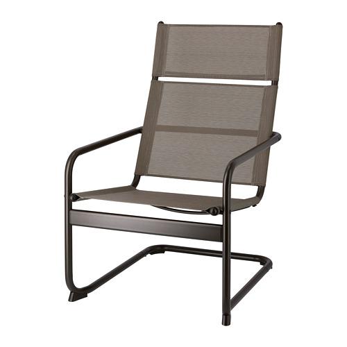 HUSARÖ - armchair, outdoor, dark grey   IKEA Hong Kong and Macau - PE715229_S4