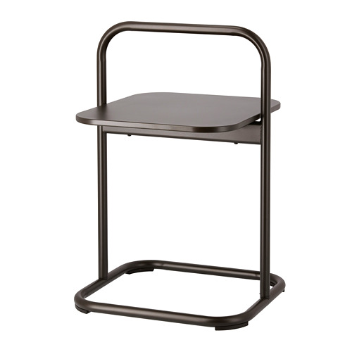 HUSARÖ - side table, outdoor, dark grey | IKEA Hong Kong and Macau - PE715228_S4