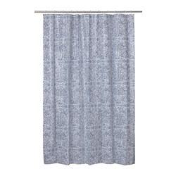 ÄNGSKLOCKA - 浴簾, 白色/藍色 | IKEA 香港及澳門 - PE808694_S3