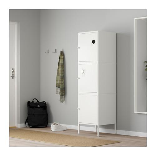 HÄLLAN - storage combination with doors, white | IKEA Hong Kong and Macau - PE664029_S4