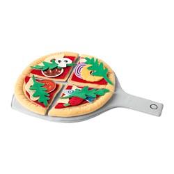 DUKTIG - 24-piece pizza set, pizza/multicolour | IKEA Hong Kong and Macau - PE712532_S3