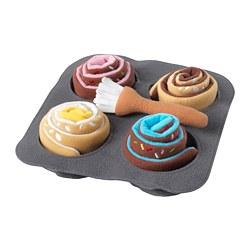 DUKTIG - 蛋糕玩具,6件裝, 玉桂/小麵包 | IKEA 香港及澳門 - PE712538_S3