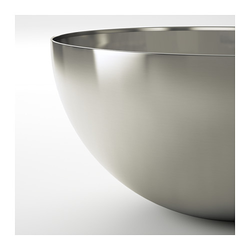 BLANDA BLANK - serving bowl, stainless steel, 28cm | IKEA Hong Kong and Macau - PE609041_S4