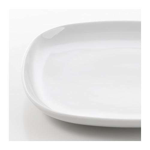 VÄRDERA - side plate, white, 18cm | IKEA Hong Kong and Macau - PE609049_S4
