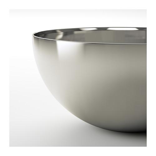 BLANDA BLANK - serving bowl, stainless steel, 20cm | IKEA Hong Kong and Macau - PE609075_S4
