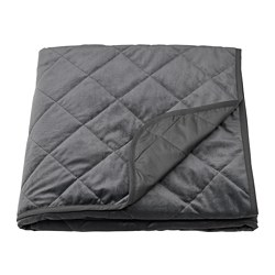 MJUKPLISTER - bedspread, dark grey   IKEA Hong Kong and Macau - PE808820_S3