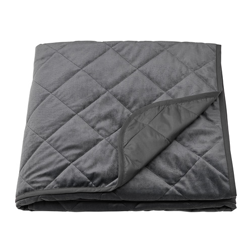 MJUKPLISTER - 床冚, 深灰色 | IKEA 香港及澳門 - PE808820_S4