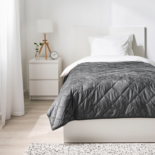 MJUKPLISTER - 床冚, 深灰色 | IKEA 香港及澳門 - PE808821_S4
