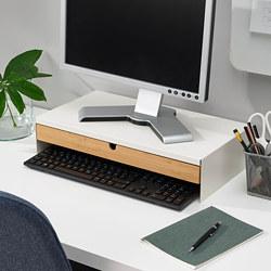 ELLOVEN - 螢幕架連抽屜, 47x26x10 cm, 白色 | IKEA 香港及澳門 - PE808855_S3