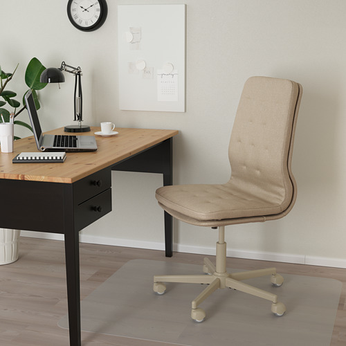 MULLFJÄLLET - conference chair with castors, Naggen beige | IKEA Hong Kong and Macau - PE808863_S4
