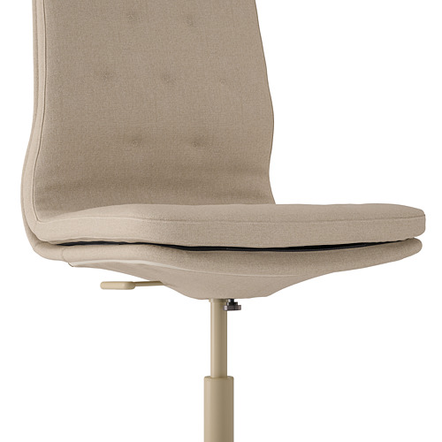 MULLFJÄLLET - conference chair with castors, Naggen beige | IKEA Hong Kong and Macau - PE808864_S4