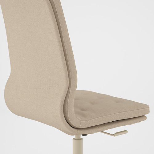 MULLFJÄLLET - conference chair with castors, Naggen beige | IKEA Hong Kong and Macau - PE808865_S4