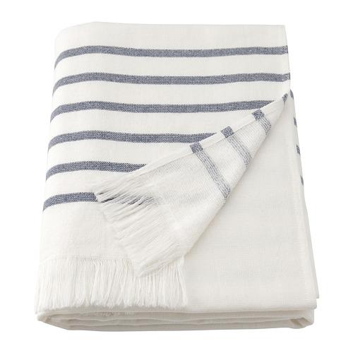 SIESJÖN - 浴巾, 白色/藍色 條紋   IKEA 香港及澳門 - PE808866_S4