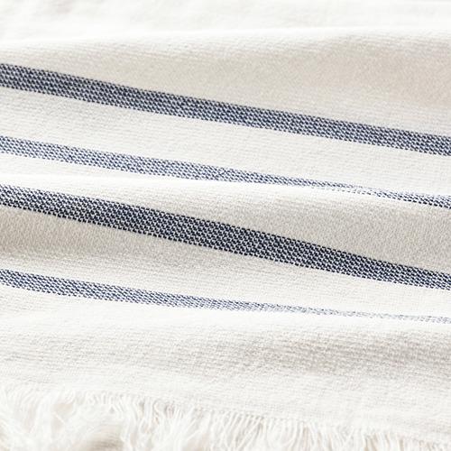 SIESJÖN - 浴巾, 白色/藍色 條紋   IKEA 香港及澳門 - PE808869_S4