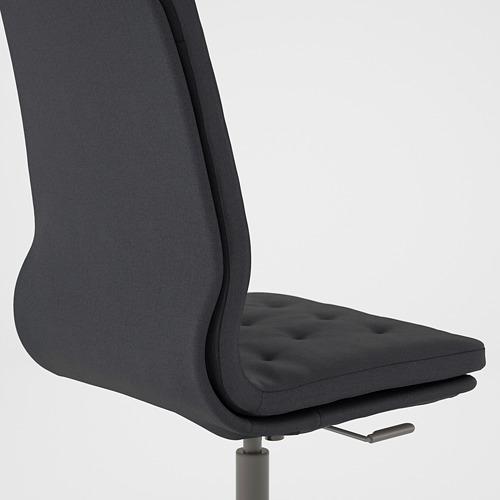 MULLFJÄLLET - conference chair with castors, Naggen dark grey | IKEA Hong Kong and Macau - PE808878_S4