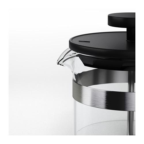 UPPHETTA - 咖啡/茶沖調器, 玻璃/不銹鋼 | IKEA 香港及澳門 - PE609238_S4