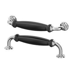 SKÄRHAMN - handle, black/chrome-plated | IKEA Hong Kong and Macau - PE664088_S3