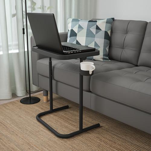 BJÖRKÅSEN - 電腦檯, 炭黑色   IKEA 香港及澳門 - PE808905_S4