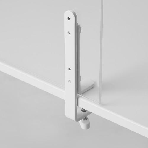 ANFALLSZON - screen for desk, transparent/white | IKEA Hong Kong and Macau - PE808930_S4