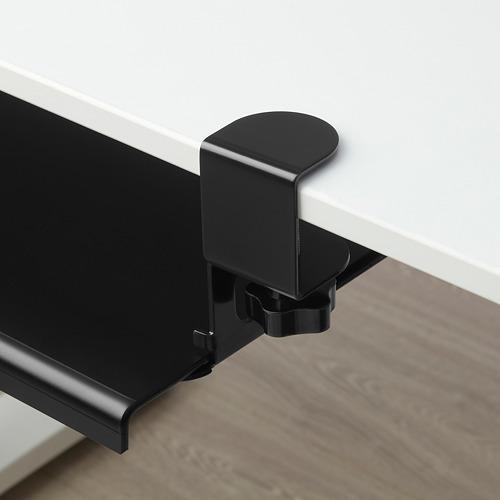 BARBERGET - 拉出式鍵盤架, 黑色 | IKEA 香港及澳門 - PE808933_S4