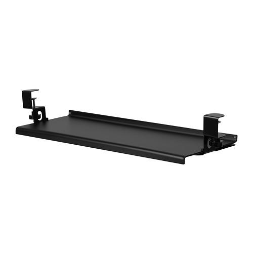 BARBERGET - 拉出式鍵盤架, 黑色 | IKEA 香港及澳門 - PE808936_S4