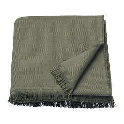 ODDRUN - throw, dark green | IKEA Hong Kong and Macau - PE753213_S3