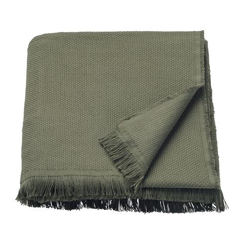 ODDRUN - throw, dark green   IKEA Hong Kong and Macau - PE753213_S4