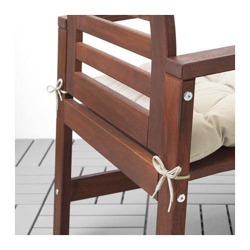 KUDDARNA - chair cushion, outdoor, 50x50 cm, beige | IKEA Hong Kong and Macau - PE712817_S4