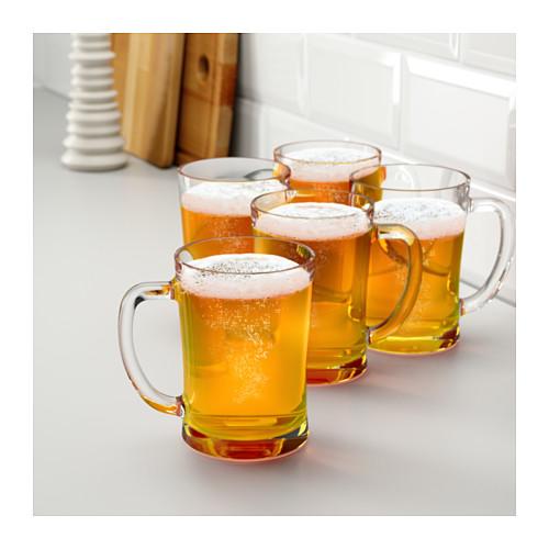 MJÖD - 啤酒杯, 透明玻璃 | IKEA 香港及澳門 - PE609493_S4