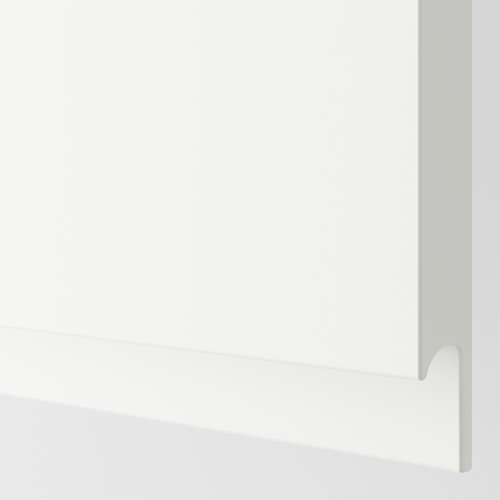 METOD - 雙門吊櫃連推按式開關, 白色/Voxtorp 啞白色   IKEA 香港及澳門 - PE600589_S4