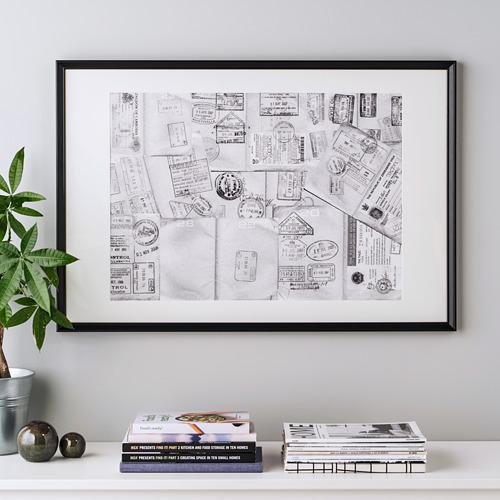 KNOPPÄNG - 畫框, 黑色 | IKEA 香港及澳門 - PE753271_S4
