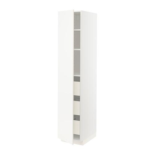 METOD/FÖRVARA high cabinet with drawers