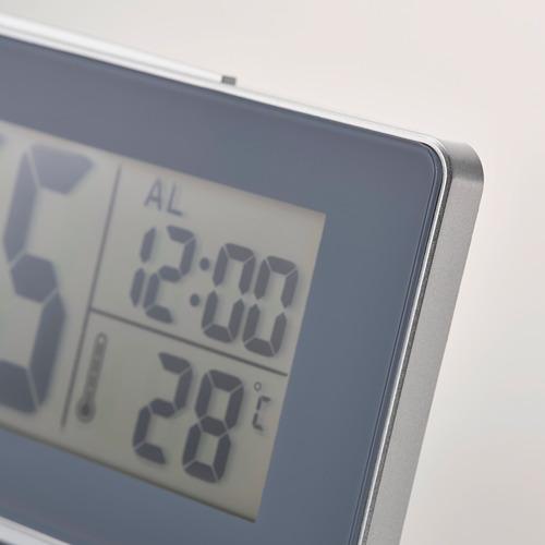 FILMIS - 時鐘/溫度計/鬧鐘, 灰色 | IKEA 香港及澳門 - PE753455_S4