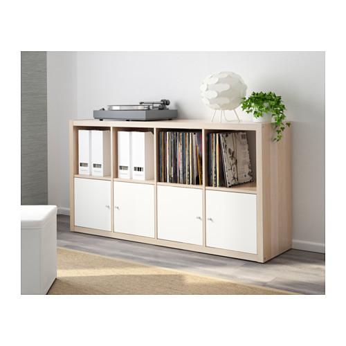 KALLAX - 層架組合, 染白橡木紋 | IKEA 香港及澳門 - PE609746_S4