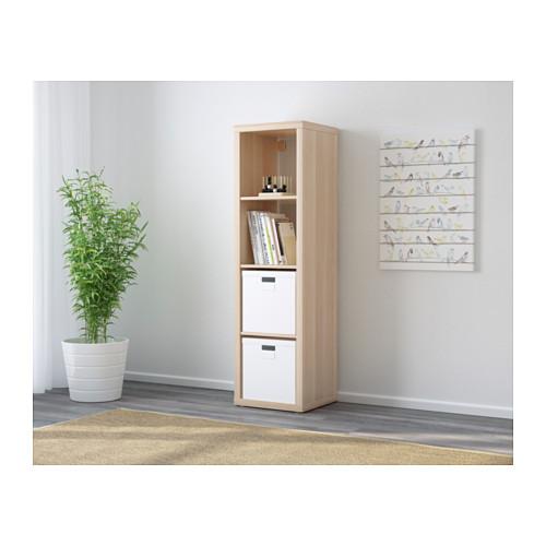 KALLAX - shelving unit, white stained oak effect | IKEA Hong Kong and Macau - PE609750_S4