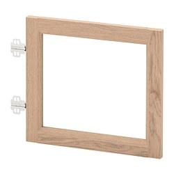 OXBERG - 玻璃門, 染白橡木飾面 | IKEA 香港及澳門 - PE664204_S3