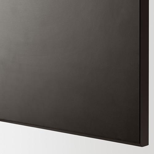 METOD - 角位地櫃連旋轉盤, 白色/Kungsbacka 炭黑色 | IKEA 香港及澳門 - PE622867_S4