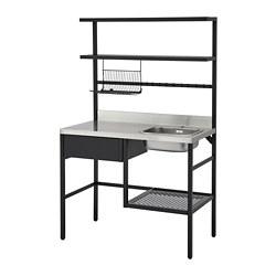 RÅVAROR - mini-kitchen, black | IKEA Hong Kong and Macau - PE781316_S3