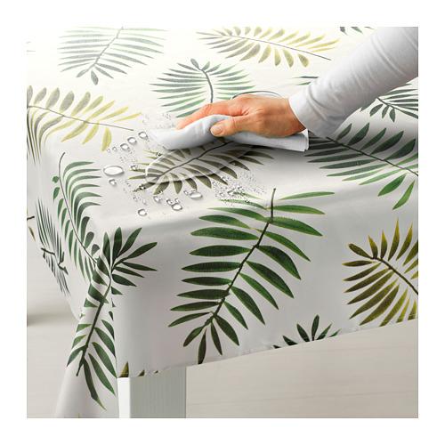 RUNDARE - 檯布, 綠色/葉 | IKEA 香港及澳門 - PE712969_S4